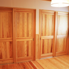 室内木製アンティークスタイルドア(国産材使用)