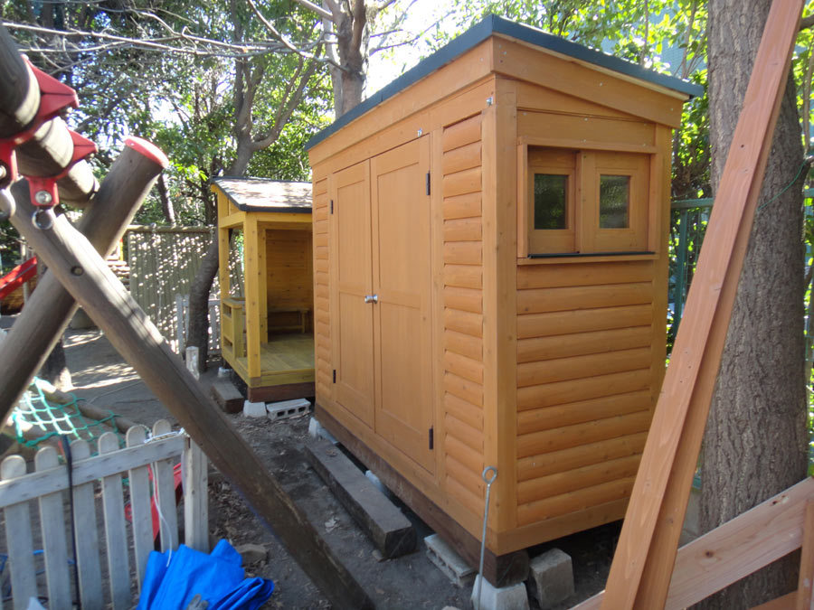 小屋完成--3