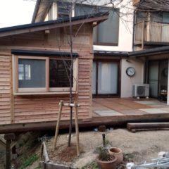 今ある家の増築にログハウスキットを!