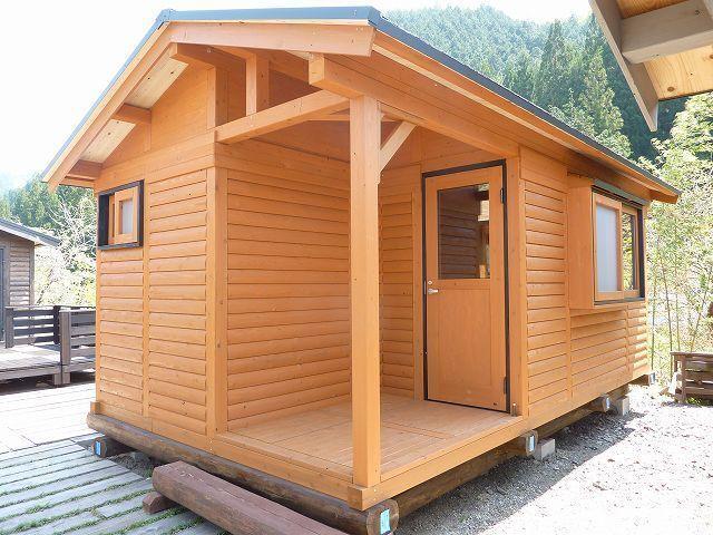 ハウス(出窓スタイル)ハウス4.5坪+デッキ0.8坪