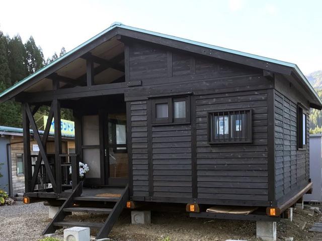 L型ハウス7.5坪+デッキ1.5坪